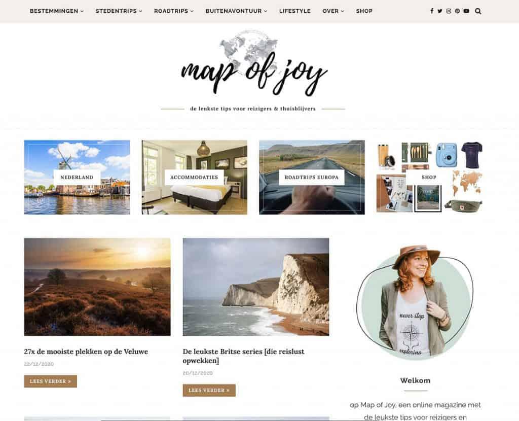 Map of joy