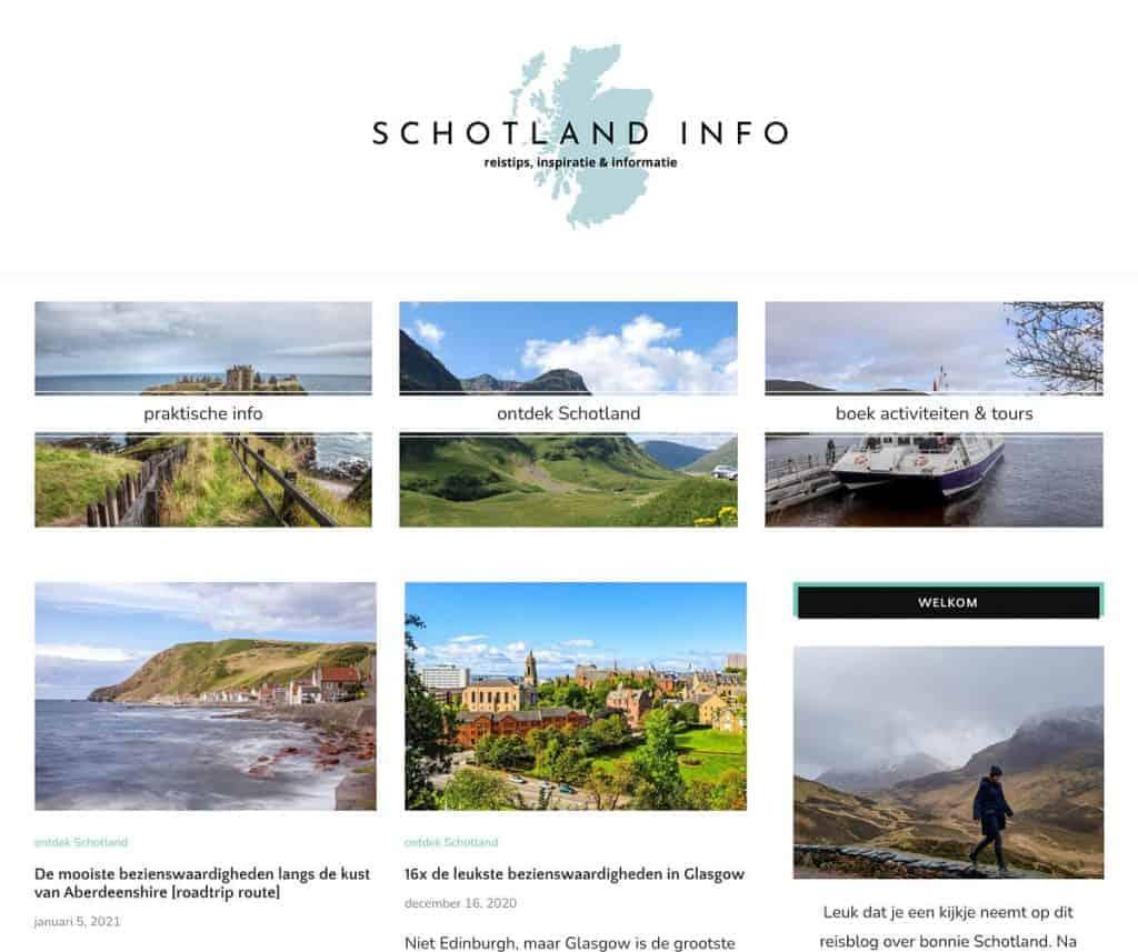Schotland info