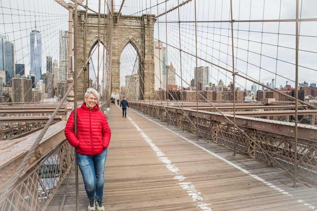 Roadtrip USA Brooklyn bridge