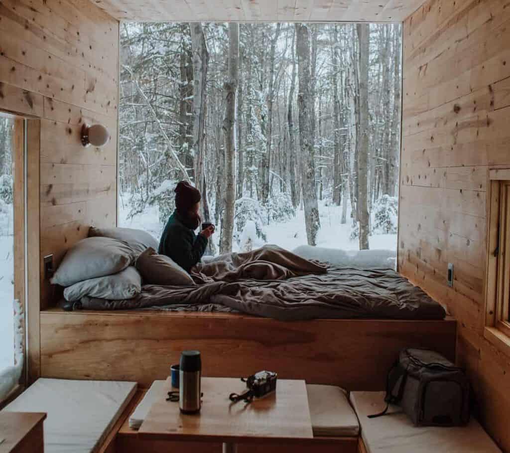 tiny house retreat