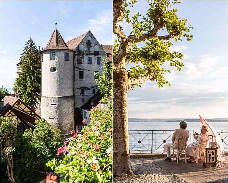 Meersburg aan de Bodensee