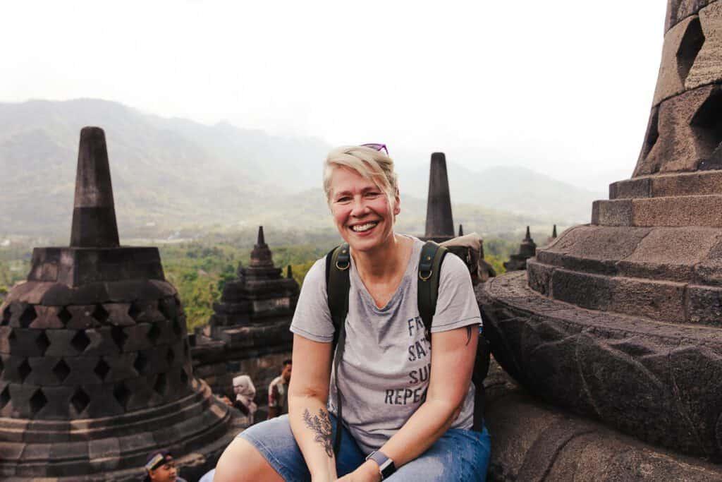 Borobudur tempel java