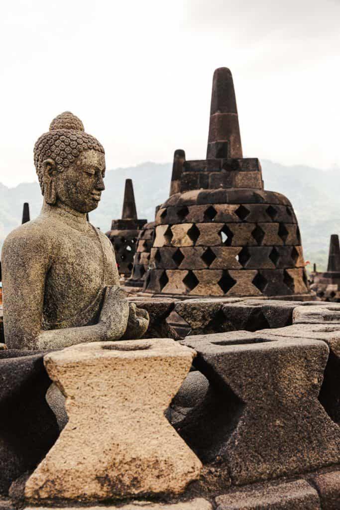 Borobodur boeddha