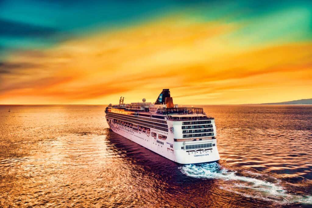 Vliegschaamte met een cruise