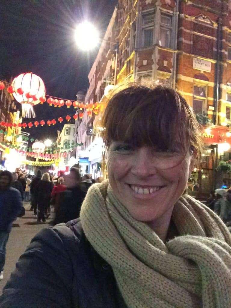 Susan op reis in Londen