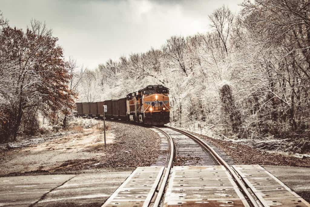 Vliegschaamte met de trein