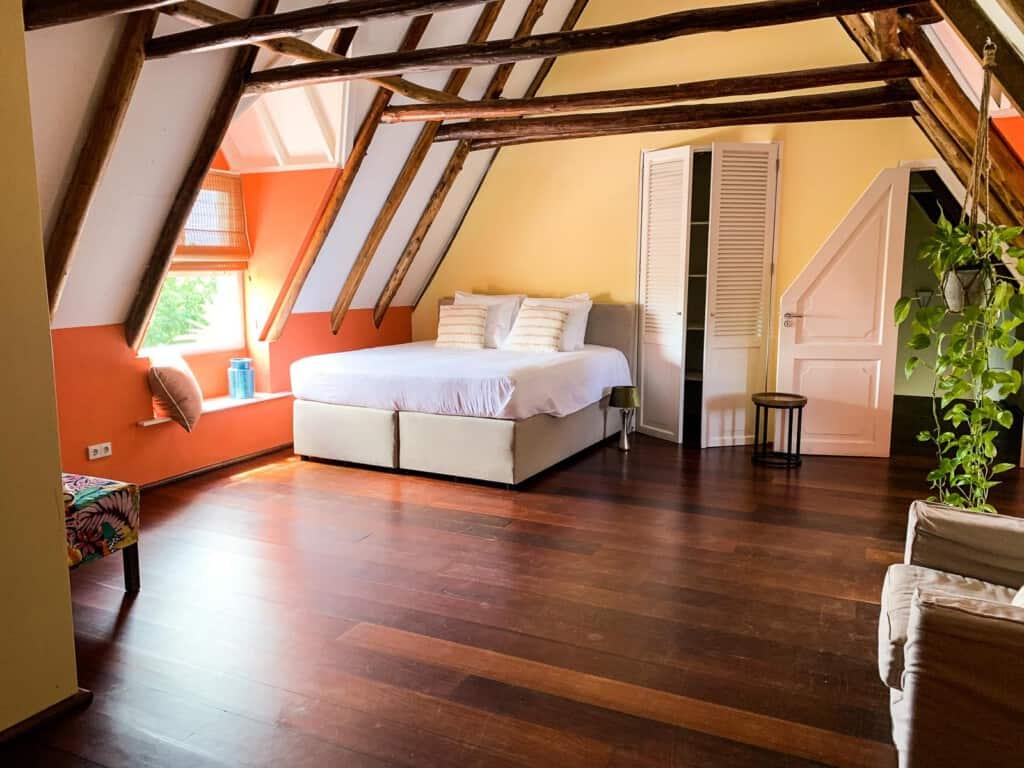 Oranje kamer landhuis Jan Thiel
