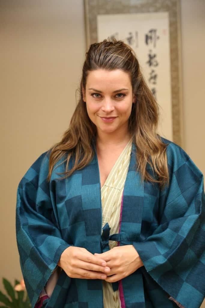 Miljuschka in Japan
