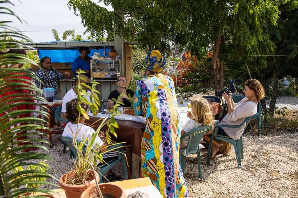 Local foodtour Curacao
