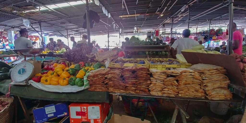 Markt op mauritius
